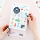 PVC pouch - Livework Todac Todac removable deco sticker set
