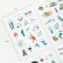 Size - Livework Todac Todac removable deco sticker set