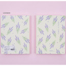 Lavender - Ardium Write your ideas soft small lined notebook