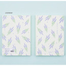 Lavender - Ardium Write your ideas soft medium lined notebook