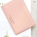Pink - ICONIC Un jour de chance flat card case holder