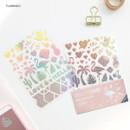 Flamingo - ICONIC Hologram deco PVC sticker set