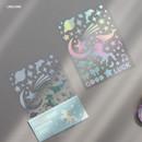 Unicorn - ICONIC Hologram deco PVC sticker set
