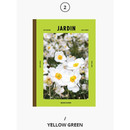 Yellow green - Second Mansion Colorful B5 size grid-lined class notebook ver2
