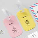 gyou Memory the moment simple travel luggage name tag