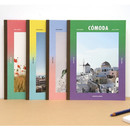 Second Mansion Colorful B5 size grid-lined class notebook ver3