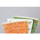 Livework Jam Jam illustration small plain and lined notebook