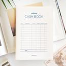 White - PAPERIAN Value simple cash book planner scheduler