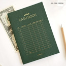 Pink green - PAPERIAN Value simple cash book planner scheduler