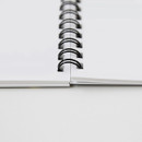 Gungmangzeung Ghost pop spiral bound plain notebook