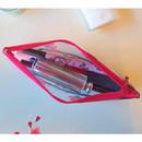 N.IVY Hongmaehwa clear zip lock multi pouch