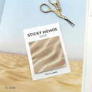 Sand - Second Mansion Memos sticky it memo note