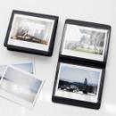 Black - 2NUL Colorful Instax wide slip in pocket photo album