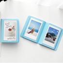 Sky blue - 2NUL Colorful Instax mini small slip in pocket photo album