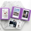 Lavender - 2NUL Colorful Instax mini small slip in pocket photo album