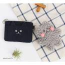 Brunch kitty - Brunch brother doll zipper card case