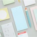 Memory planning notepad