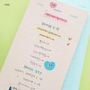 Checklist - pink