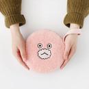 pink - Brunch brother circle zipper pouch