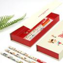 Bookfriends World literature black lead pencil set of 3