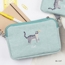 Cat - Tailorbird pastel side crossbody bag