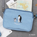 Penguin - Tailorbird pastel side crossbody bag