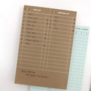 Shopping - Second mansion planning memo notepad