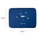 Size - DESIGN IVY Ggo deung o eco friendly 13 inches laptop pouch case