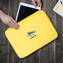 Yellow - DESIGN IVY Ggo deung o eco friendly  13 inches laptop pouch case