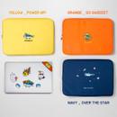 Color - DESIGN IVY Ggo deung o eco friendly  13 inches laptop pouch case