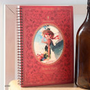 Anne - Indigo Classic story spiral bound lined notebook
