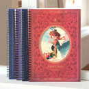 Indigo Classic story spiral bound lined notebook