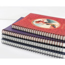 wire bound - Indigo Classic story spiral bound lined notebook