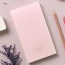 Pink - Dash and Dot Moon drawing memo note pad