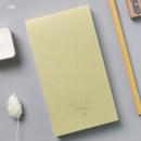 Lime - Dash and Dot Moon drawing memo note pad
