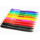 Colorful knock retractable color gel pen set 0.5mm