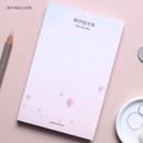 Sky balloon - Dash and Dot Bonjour memo writing notepad 100 sheets