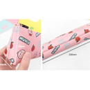 Size - 2Young Munch triangle zipper pencil case