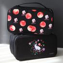 Black peach, Rabbit - Rim travel underwear and bra pouch bag
