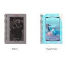 Color - Wanna This Clear spiral lined notebook