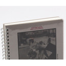 Thick backboard - Wanna This Clear spiral lined notebook