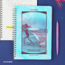 Hologram - Wanna This Clear spiral lined notebook