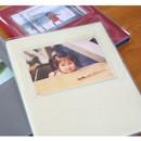 4x6 photo in cover pocket - Shinzikatoh Moment of my life white self adhesive photo album