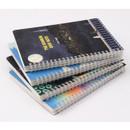 Wirebound notebook - Wanna This The Bon Bon illustration spiral grid notebook