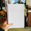 Simple - N.IVY Pink 100 days spiral study planner