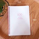 Size - N.IVY Pink 100 days spiral study planner