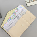 Example of use - Think about W soft envelope passport case