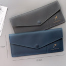 Size of Think about W soft envelope passport case