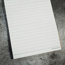 Universal condition Le cahier light A5 size spiral lined notebook