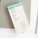 Mint - Manage series checklist notepad